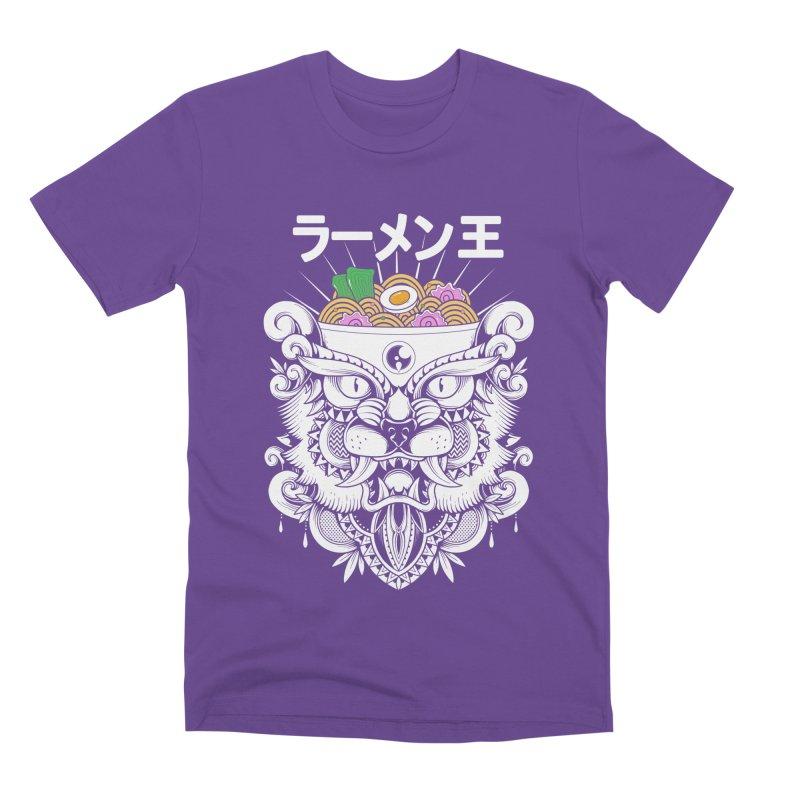 King of Ramen Men's Premium T-Shirt by godzillarge's Artist Shop