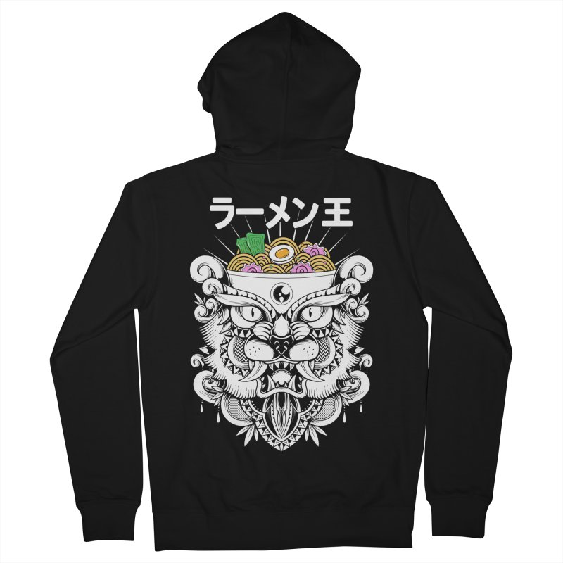 King of Ramen Men's French Terry Zip-Up Hoody by godzillarge's Artist Shop