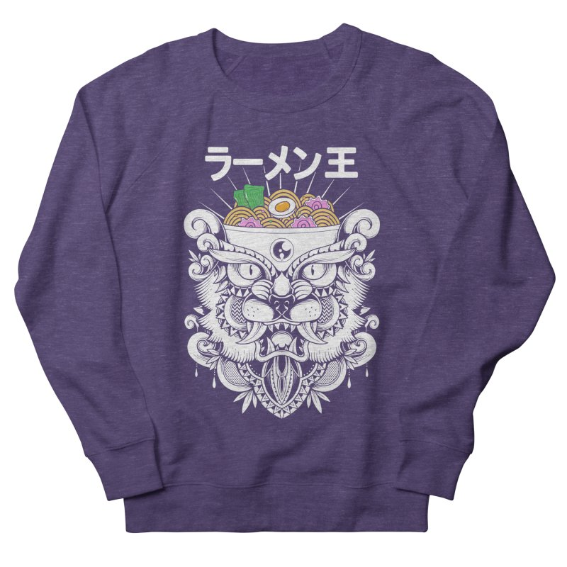 King of Ramen Women's French Terry Sweatshirt by godzillarge's Artist Shop