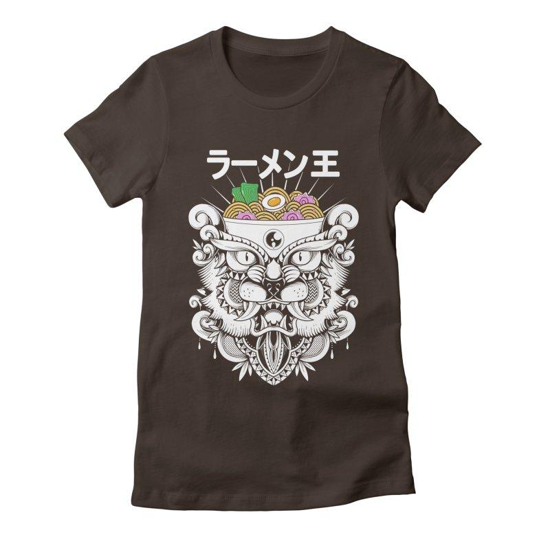 King of Ramen Women's Fitted T-Shirt by godzillarge's Artist Shop