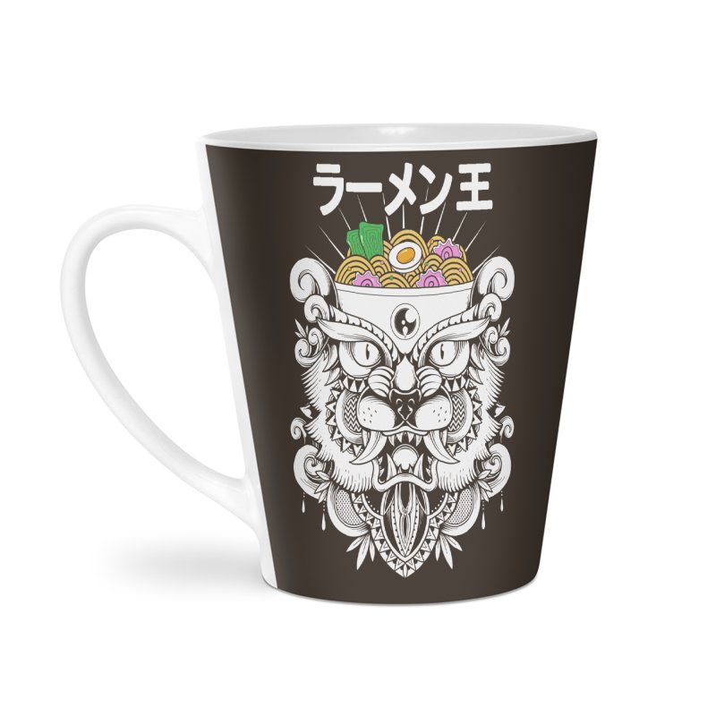 King of Ramen Accessories Latte Mug by godzillarge's Artist Shop