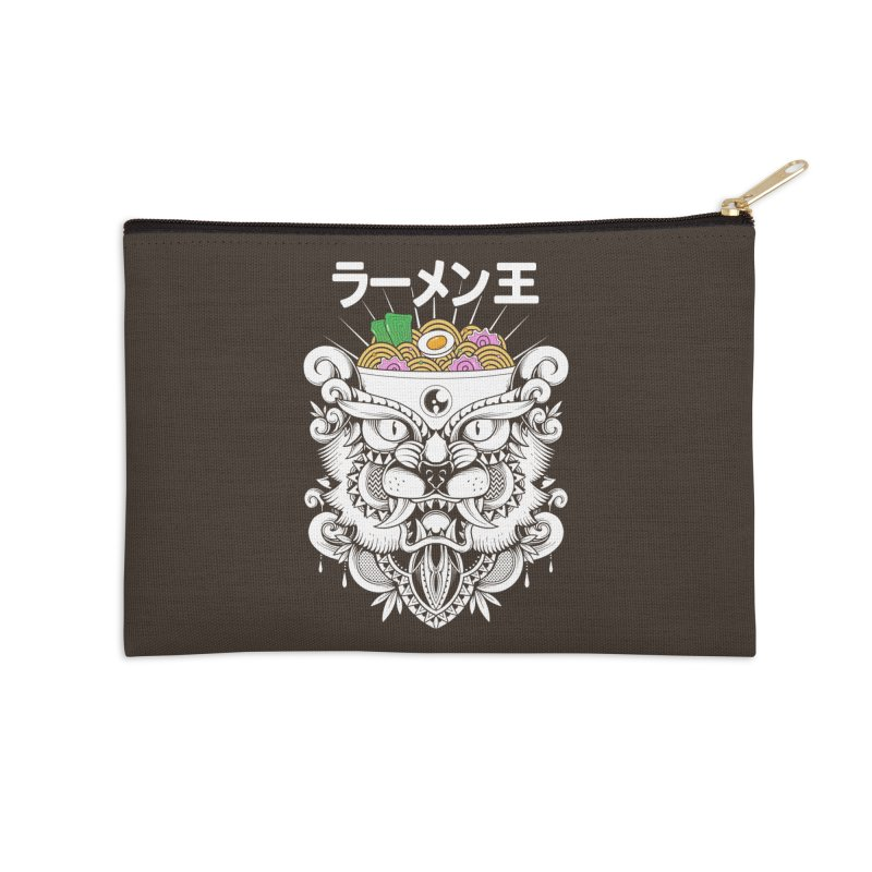 King of Ramen Accessories Zip Pouch by godzillarge's Artist Shop
