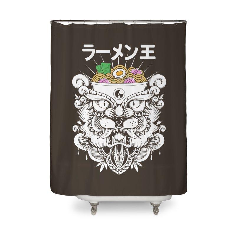 King of Ramen Home Shower Curtain by godzillarge's Artist Shop