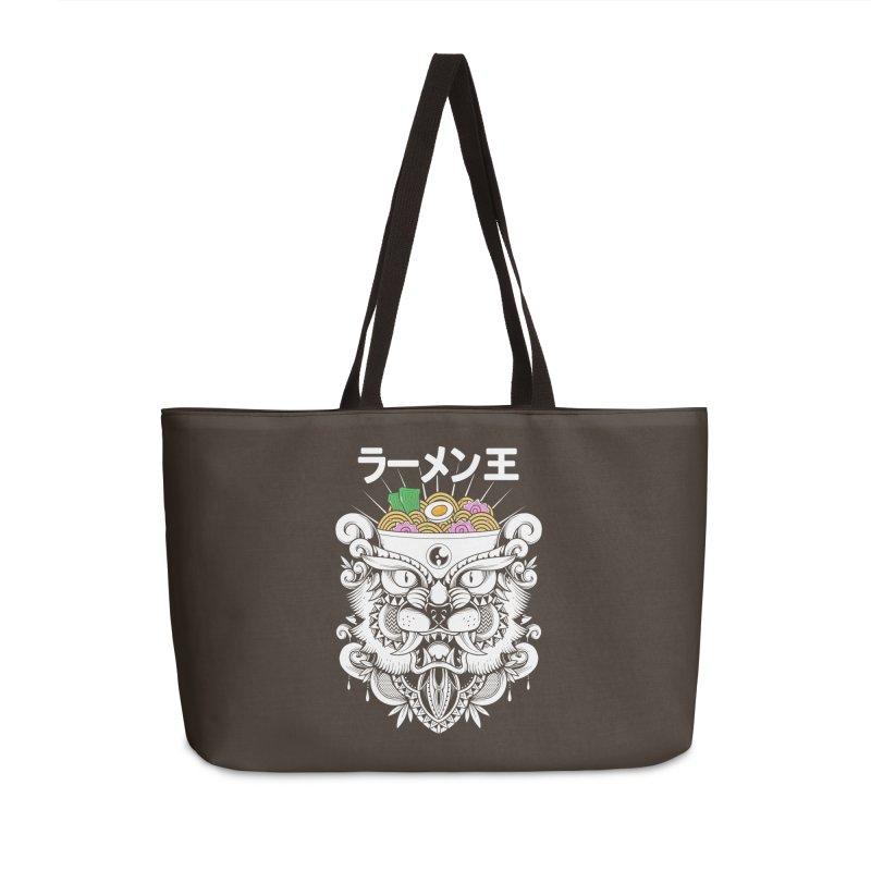 King of Ramen Accessories Weekender Bag Bag by godzillarge's Artist Shop
