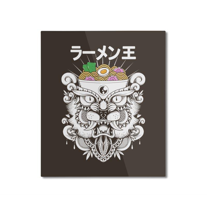 King of Ramen Home Mounted Aluminum Print by godzillarge's Artist Shop