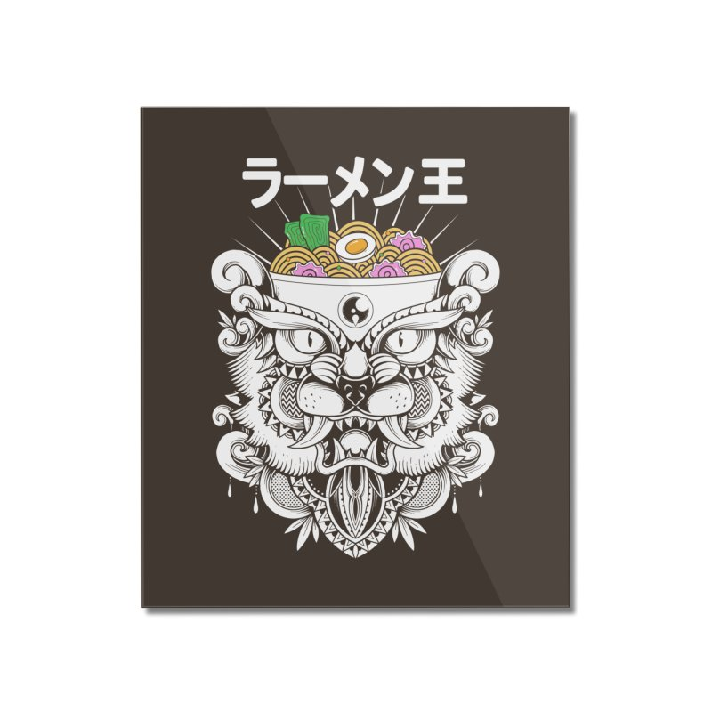 King of Ramen Home Mounted Acrylic Print by godzillarge's Artist Shop