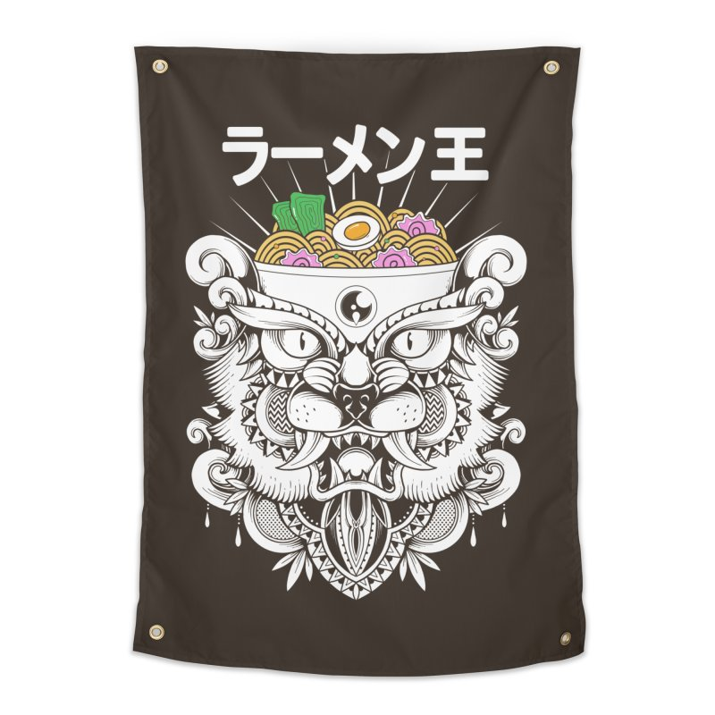 King of Ramen Home Tapestry by godzillarge's Artist Shop