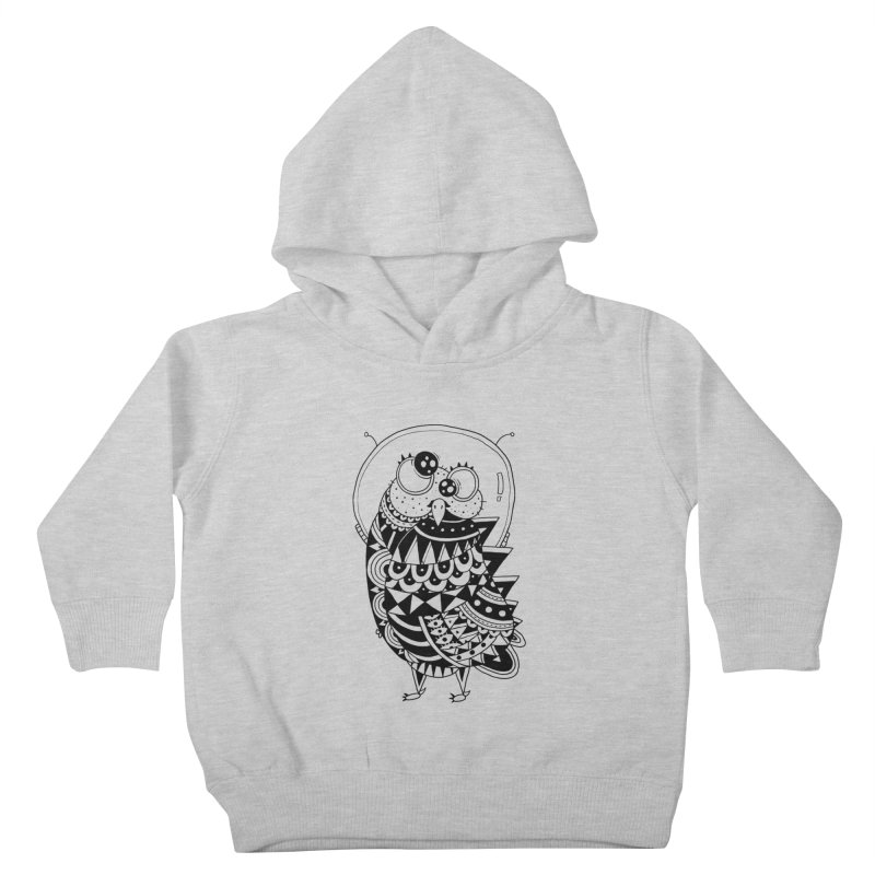 Owl Spaceman Kids Toddler Pullover Hoody by godzillarge's Artist Shop