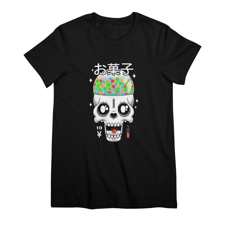 Creepy Gumball Machine Women's Premium T-Shirt by godzillarge's Artist Shop