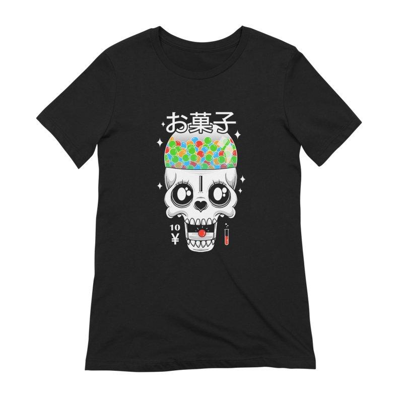Creepy Gumball Machine Women's Extra Soft T-Shirt by godzillarge's Artist Shop
