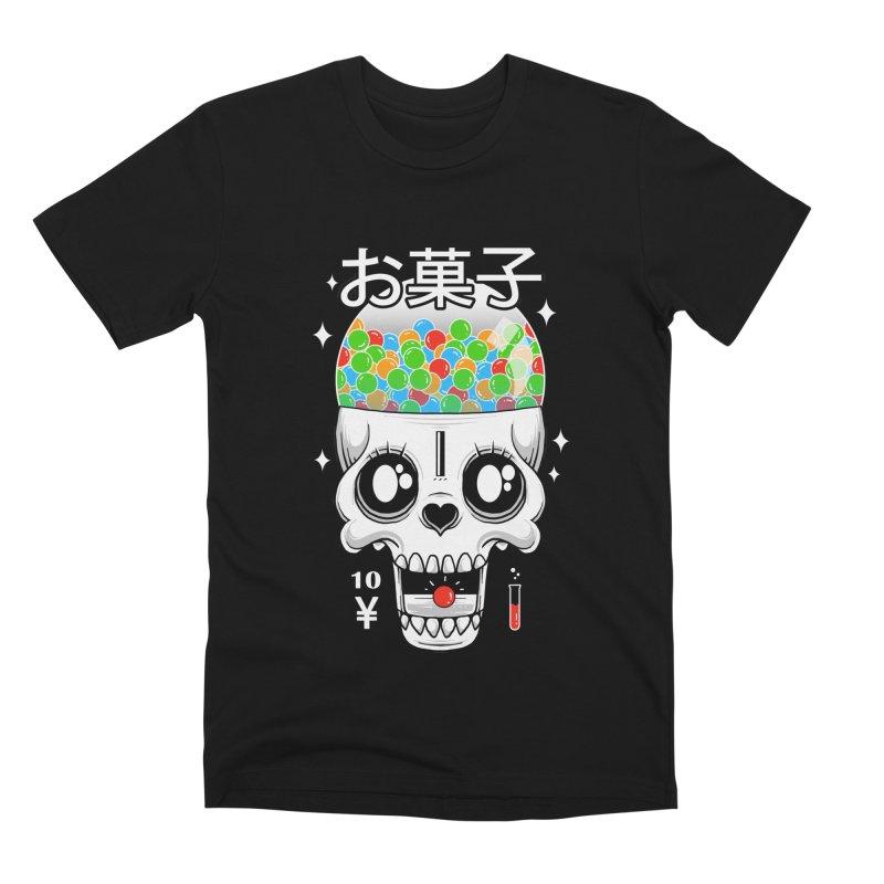 Creepy Gumball Machine Men's Premium T-Shirt by godzillarge's Artist Shop