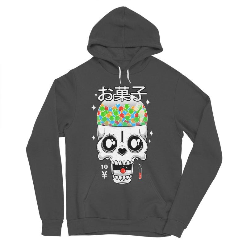 Creepy Gumball Machine Men's Sponge Fleece Pullover Hoody by godzillarge's Artist Shop