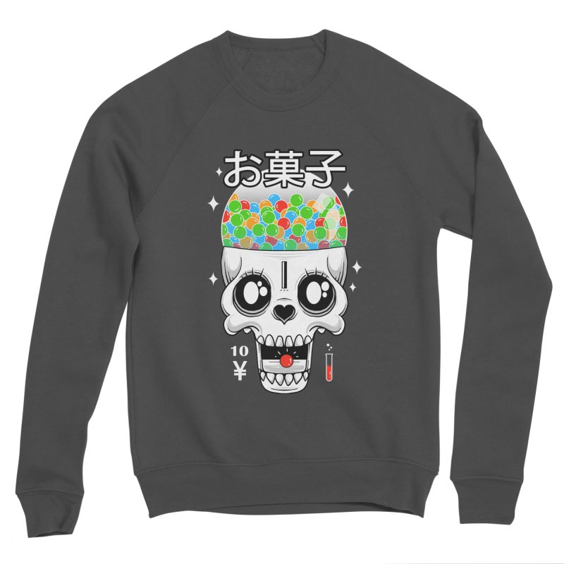 Creepy Gumball Machine Men's Sponge Fleece Sweatshirt by godzillarge's Artist Shop