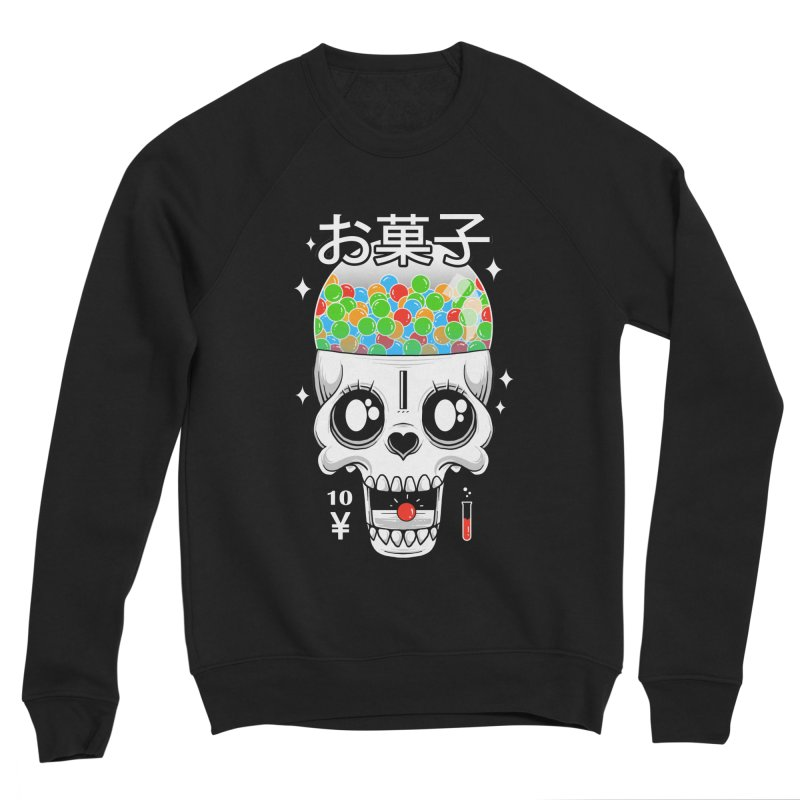 Creepy Gumball Machine Women's Sponge Fleece Sweatshirt by godzillarge's Artist Shop