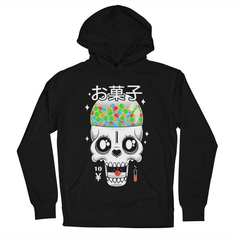 Creepy Gumball Machine Men's French Terry Pullover Hoody by godzillarge's Artist Shop