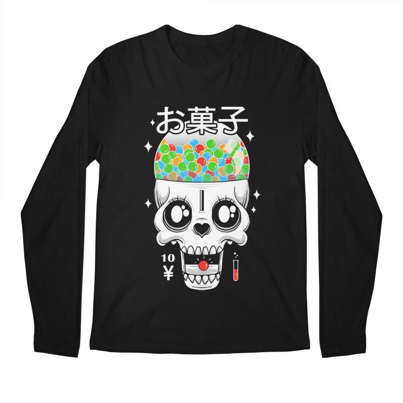 Creepy Gumball Machine Men's Regular Longsleeve T-Shirt by godzillarge's Artist Shop