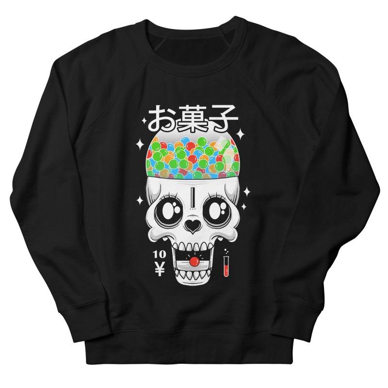 Creepy Gumball Machine Men's French Terry Sweatshirt by godzillarge's Artist Shop