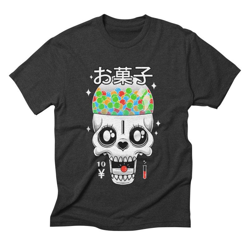 Creepy Gumball Machine Men's Triblend T-Shirt by godzillarge's Artist Shop