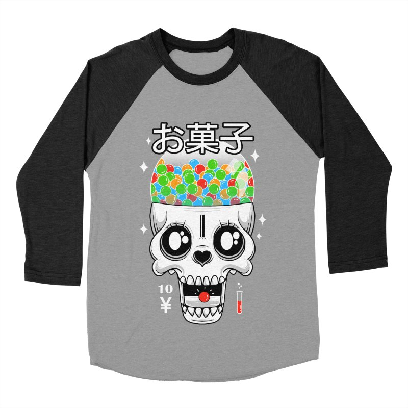 Creepy Gumball Machine Women's Baseball Triblend Longsleeve T-Shirt by godzillarge's Artist Shop
