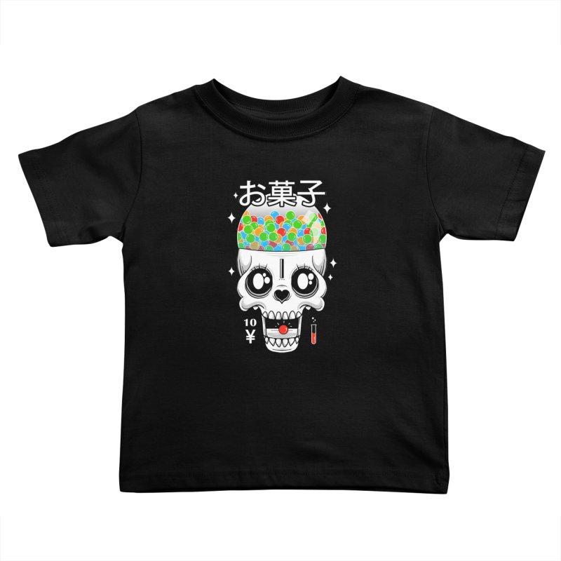 Creepy Gumball Machine Kids Toddler T-Shirt by godzillarge's Artist Shop