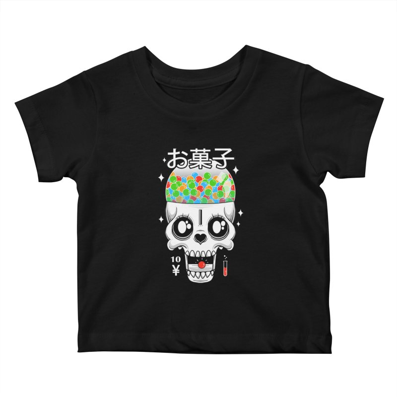 Creepy Gumball Machine Kids Baby T-Shirt by godzillarge's Artist Shop