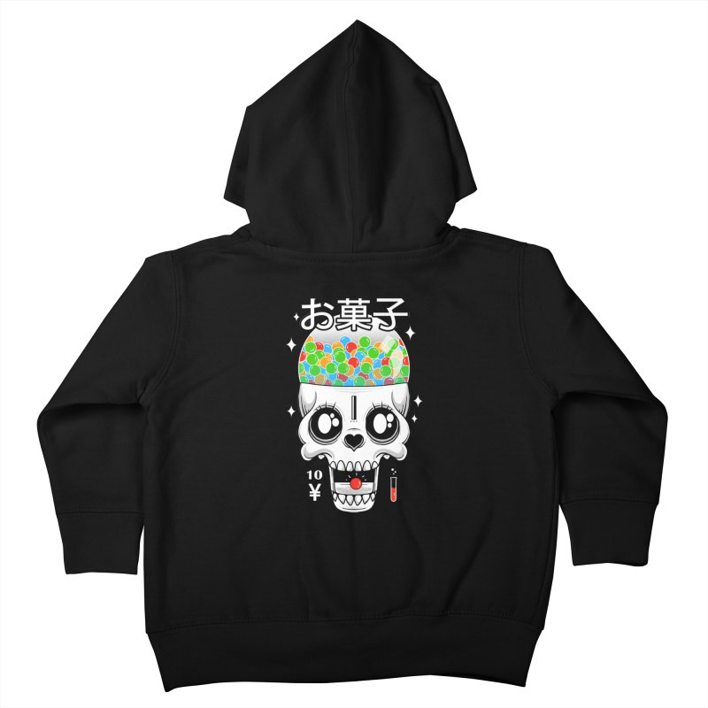 Creepy Gumball Machine Kids Toddler Zip-Up Hoody by godzillarge's Artist Shop
