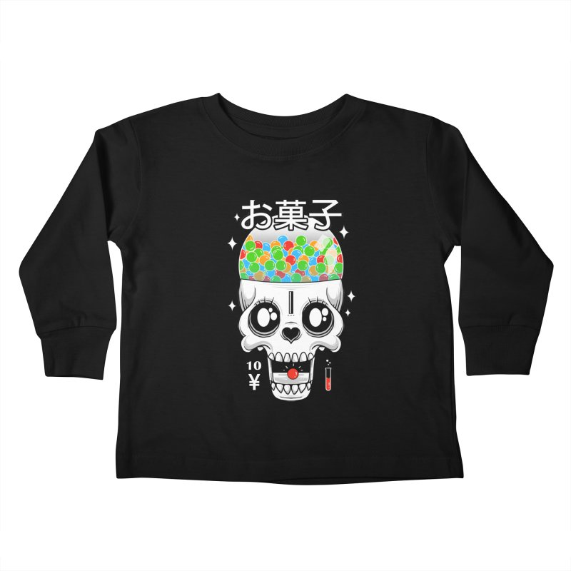 Creepy Gumball Machine Kids Toddler Longsleeve T-Shirt by godzillarge's Artist Shop