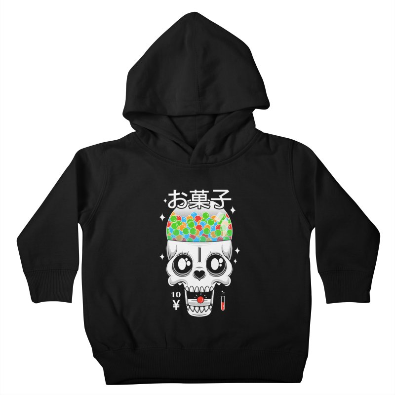 Creepy Gumball Machine Kids Toddler Pullover Hoody by godzillarge's Artist Shop