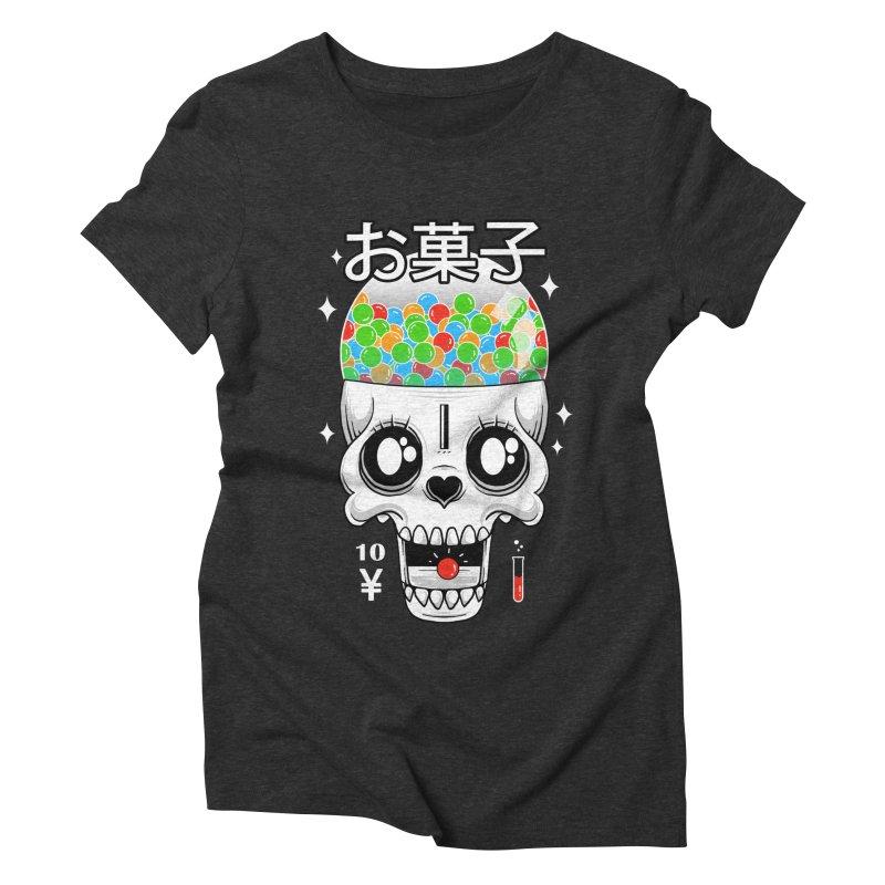 Creepy Gumball Machine Women's Triblend T-Shirt by godzillarge's Artist Shop