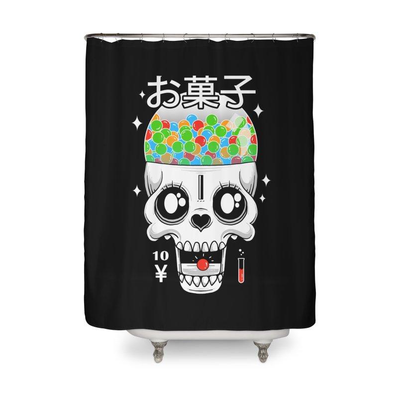 Creepy Gumball Machine Home Shower Curtain by godzillarge's Artist Shop