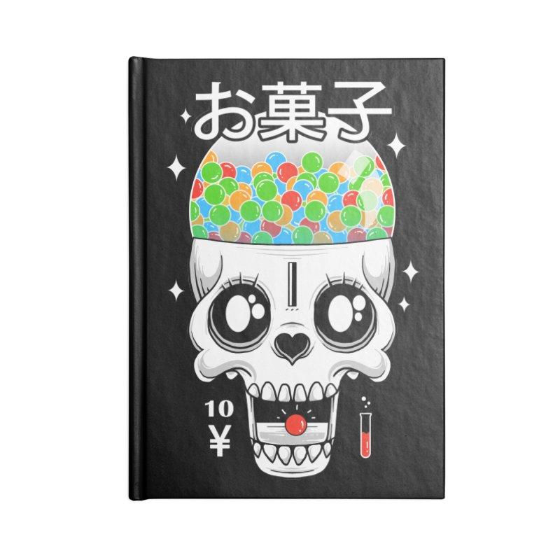 Creepy Gumball Machine Accessories Blank Journal Notebook by godzillarge's Artist Shop