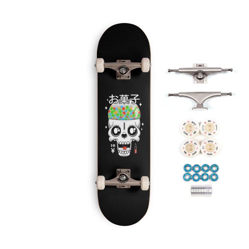 Creepy Gumball Machine Accessories Complete - Premium Skateboard by godzillarge's Artist Shop