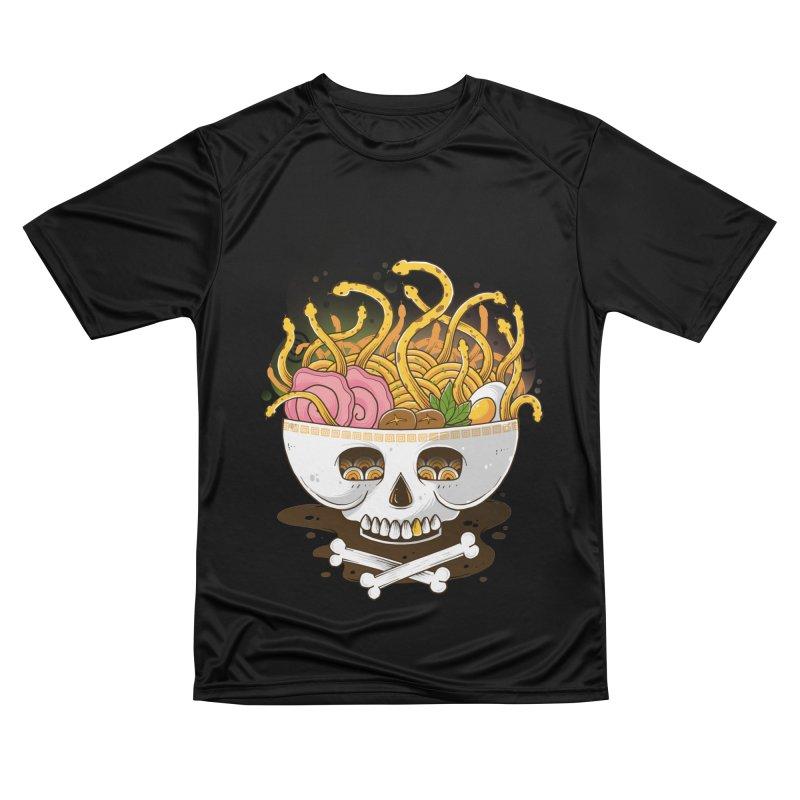 Ramen Medusa Men's T-Shirt by godzillarge's Artist Shop