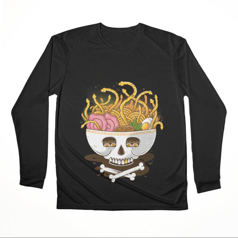 Ramen Medusa Men's Longsleeve T-Shirt by godzillarge's Artist Shop