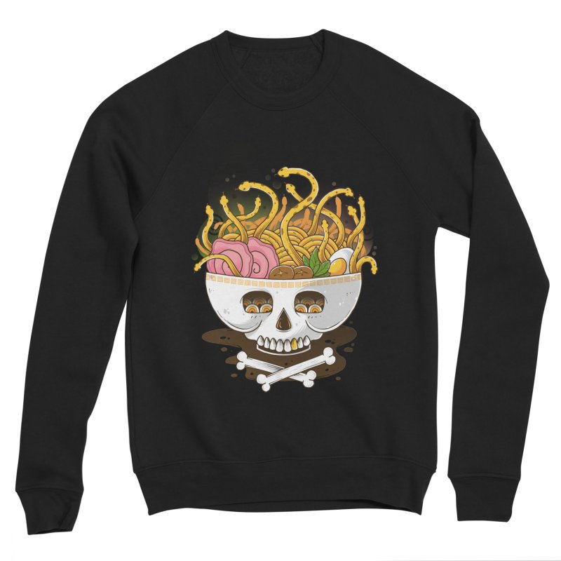 Ramen Medusa Men's Sponge Fleece Sweatshirt by godzillarge's Artist Shop