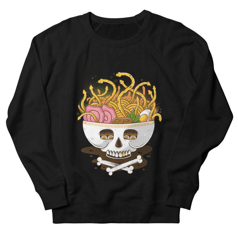 Ramen Medusa Women's French Terry Sweatshirt by godzillarge's Artist Shop