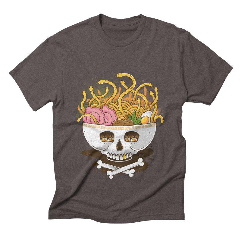 Ramen Medusa Men's Triblend T-Shirt by godzillarge's Artist Shop