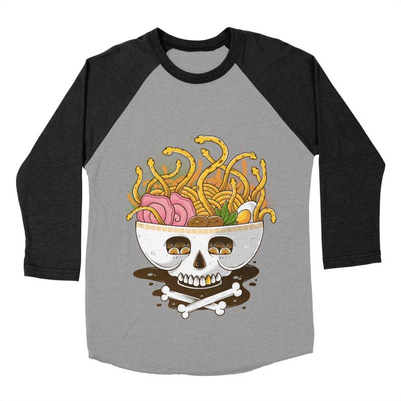 Ramen Medusa Men's Baseball Triblend Longsleeve T-Shirt by godzillarge's Artist Shop
