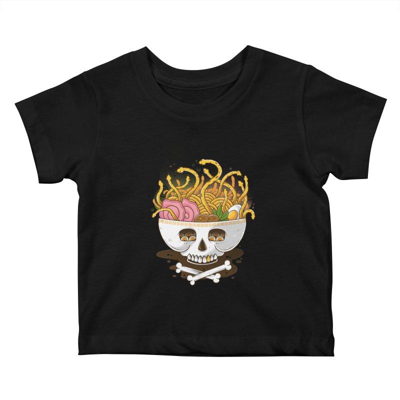 Ramen Medusa Kids Baby T-Shirt by godzillarge's Artist Shop
