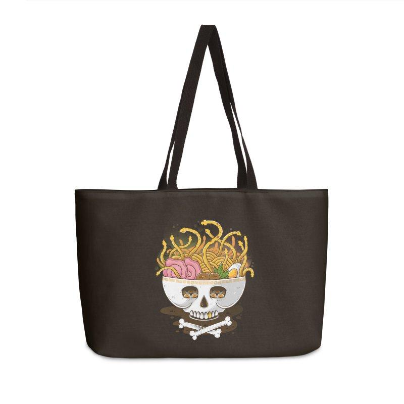 Ramen Medusa Accessories Weekender Bag Bag by godzillarge's Artist Shop