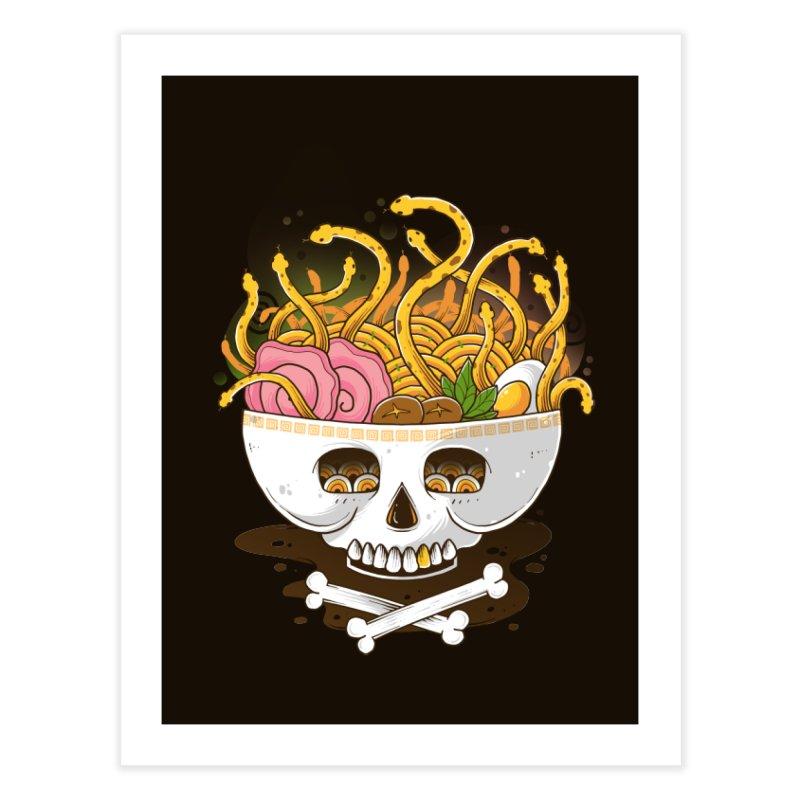 Ramen Medusa Home Fine Art Print by godzillarge's Artist Shop