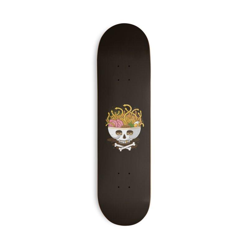 Ramen Medusa Accessories Deck Only Skateboard by godzillarge's Artist Shop