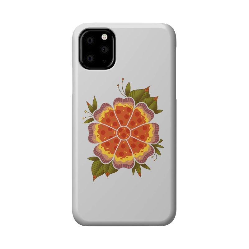 Pizza Flower Accessories Phone Case by godzillarge's Artist Shop