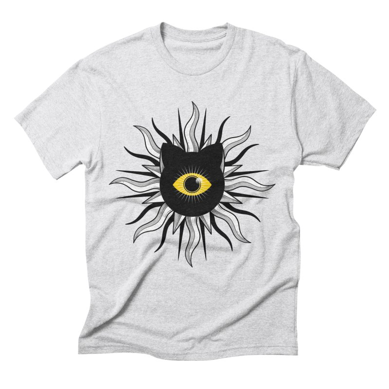 They're Watching Us Men's Triblend T-Shirt by godzillarge's Artist Shop