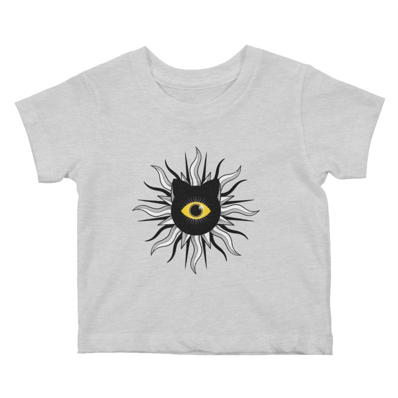 They're Watching Us Kids Baby T-Shirt by godzillarge's Artist Shop