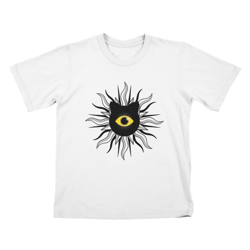 They're Watching Us Kids T-Shirt by godzillarge's Artist Shop