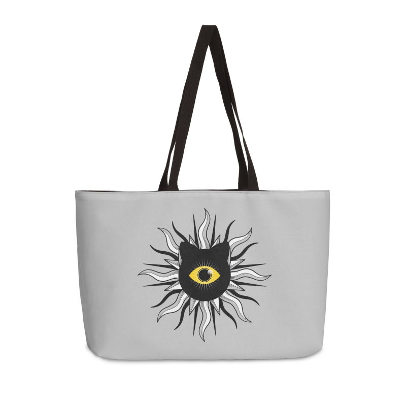 They're Watching Us Accessories Weekender Bag Bag by godzillarge's Artist Shop