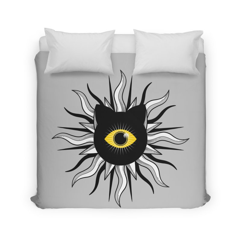 They're Watching Us Home Duvet by godzillarge's Artist Shop