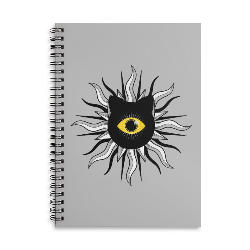 They're Watching Us Accessories Lined Spiral Notebook by godzillarge's Artist Shop