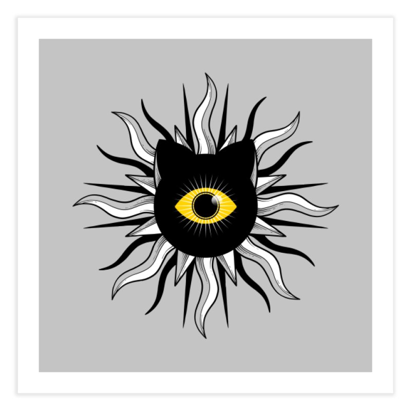 They're Watching Us Home Fine Art Print by godzillarge's Artist Shop